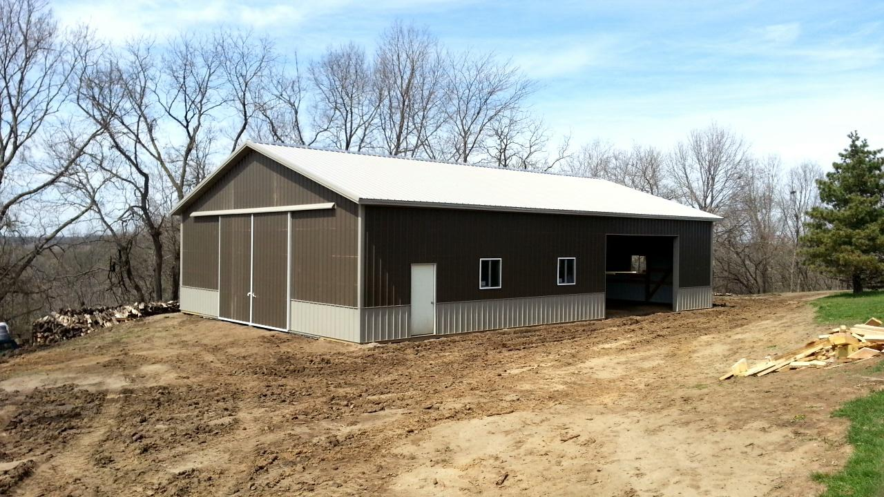 Pole barn pics ross homes for Pole barn home builders